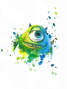 Mike Wizowski - Monsters Inc.