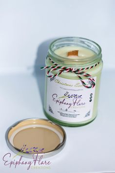 Natural Eco-Friendly Christmas Essence Essential Oil Vegan Candle NOW 30% OFF £16.10 Cosy Christmas, Christmas Scents, Christmas Feeling, Vegan Friendly, Eco Friendly, Myristica Fragrans, Vegan Candles, Wood Wick Candles, Epiphany