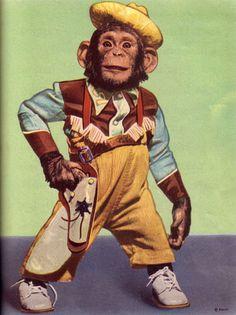 Cowboy Chimp