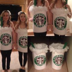 Starbucks costume for Halloween!