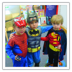 The Science of Superheroes - Read how a preschool class inspired a #superhero science study!