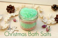 DIY Christmas Bath Salts - Χριστουγεννιάτικα Άλατα Μπάνιου!