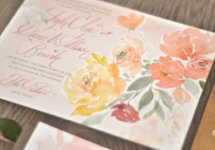 Real Wedding Invitations - Oh So Beautiful Paper