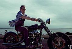 Bruce #Harley Vanity Fair Oct. 2016