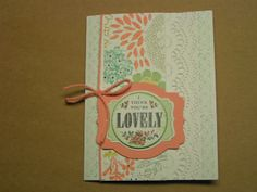 Stampin' Kat: Oh So Lovely!