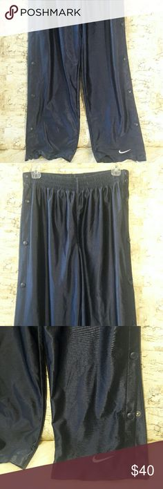 Nike✔ Snap off gym pants Snap off basket ball pants , Great condition size M Nike Pants