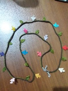 Projects To Try, Beaded Necklace, Jewelry, Style, Herbs, Beaded Collar, Swag, Jewlery, Pearl Necklace