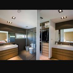 Ba os minimalistas con vestidores ideas para el hogar for Closets minimalistas df