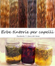 Le erbe officinali , oltre che per le proprietà curative e l'impiego in cucina , possono essere utilizzate come coloranti naturali di tessuti , saponi o per i capelli , in sostituzione delle …