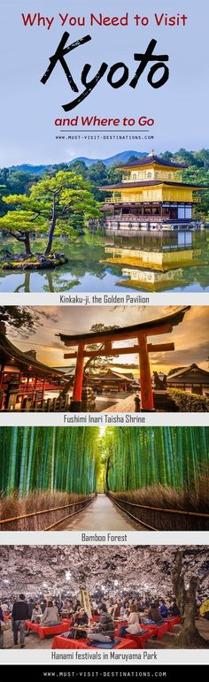 Arts, nature, and religion intertwine in Kyoto like nowhere else in Japan! Check out Why You Need to Visit Kyoto and Where to Go!  #travel