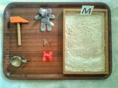 Montessori inspired tot school part II