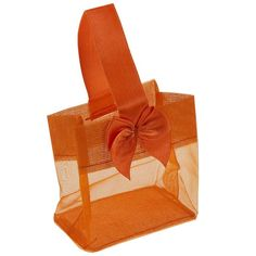 Orange Organza Mini Tote to package up my jewelry creations at craft fairs.  Cute and surprisingly affordable!