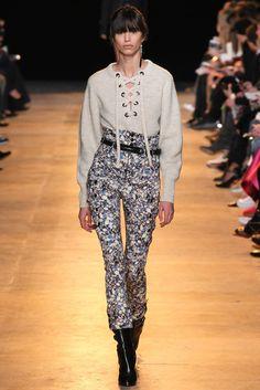 Isabel Marant Fall 2015 Ready-to-Wear Fashion Show - Mica Arganaraz