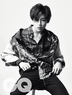Bambam GOT7 for GQ                                                                                                                                                                                 Plus