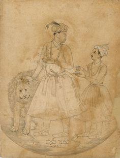 Portrait of the emperor Jahangir: Balchand