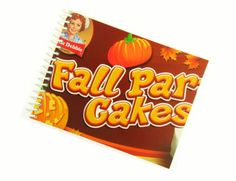 FALL PARTY CAKES little debbie recycled spiral by RosiesBooks, $7.00
