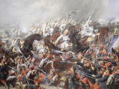 Charge de cavalerie allemande, Musée de Gravelotte, 17 avril 2014 - Le blog de Miss Média
