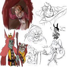MK in Wonderland 2 by kemiobsesses