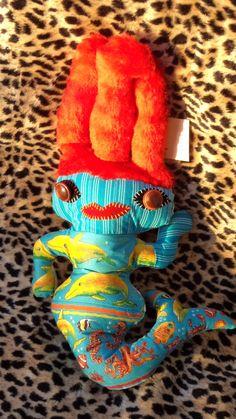 Dadá Sereia, Delfina Reis  #dolls #art #delfinareis  #oneofakind  #softsculpture #dodotoyart  #toyart Dodô & Dadá Toy Art  #softies #soft sculpture #artdolls #toys #dodos&dadas #dodos #dada  #doll #mermaid