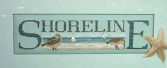 Hinzeit Charmed Shoreline Cross Stitch by TheNeedlesTreasures Cross Stitch, Charmed, Sea, Handmade Gifts, Pattern, Etsy, Vintage, Crossstitch, Hand Made Gifts