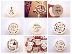 Segells per decorar els teus regals o per estampar en por MotsXics