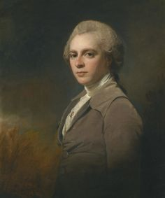 George Romney 1734-1802 UK  PORTRAIT OF GEORGE COWPER (1754-1787) | oil on canvas