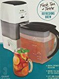 Mr. Coffee Iced Tea Maker 3 Quart with Brew Strength Selector (Black)