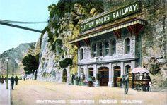 Clifton Rocks Railway: a former underground funicular railway, linking Clifton to Bristol harbour. It is now open to the public via pre-arranged tours. Bristol Harbour, Bristol City, Clifton Village, Visit Bristol, Isambard Kingdom Brunel, British History, Local History, Bristol England, Avon