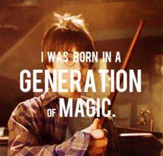 A generation of magic