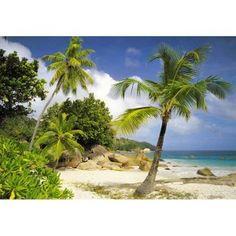 Fotomural de una playa