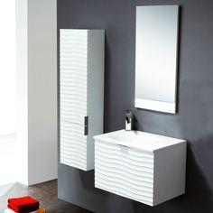 Conjunto mueble de baño Bath Verona 60 blanco #hogar #decoracion