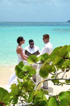 Ocean Side Wedding On Culebra