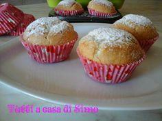 I muffins, un dolce semplice per tante occasioni con un cuore di nutella per i più golosi.