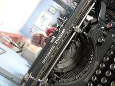 My camera, my typewriter and me. What do pop culture favorites Murder, She Wrote, Whatever Happened to Baby Jane, and Moulin Rouge have in common? Their main characters all wrote on an Underwood typewriter. Writer for hire: www.whytheoatmeal...