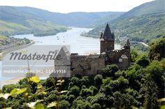 castles in romantic germany - the rhineland-palatinate | ... Castle, Bacharach, Rhine Valley, Rhineland-Palatinate, Germany, Europe