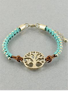 Tree of Life Bracelet from P.S. I Love You More Boutique