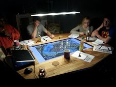 EN World RPG News & Reviews - Making A Custom Gaming Table