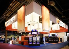 Exhibit design by Hill & Partners for SPIELO for Gaming Expo (G2E) 2011