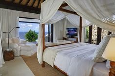 The most amazing panoramic ocean views from 7 unique, refined 5 bedroom villas on the cliff edge. Semara Luxury Villas Uluwatu is in Uluwatu, Bali. #uluwatu #bali