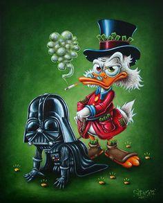 Dark & Pics Acrylique sur toile Gilen 2017 www.fr www. Cartoon Kunst, Comic Kunst, Cartoon Art, Comic Art, Disney Horror, Horror Cartoon, Art Disney, Disney Kunst, Cartoon Character Tattoos