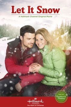 Are you ready to Let It Snow! Candace Cameron Bure and Jesse Hutch are bundled up and ready to fall in love. #ChristmasKeepsake