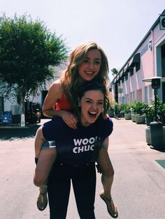 Peyton List and her BFF Kaylyn having fun. Lovely photo. Sal P.