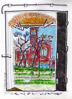 558 acuarela 20 x 30 cm. sobre canson en venta en mi sitio web.   #landscape #sketch #city #decoration #draw #ink #pen #acuarelle  #watercolor #paint #painters #art #inspiration #building #house #drawings #artworks #aquarello #acuarela #pintura #cuadros #arte #artesplasticas #dibujos #ciudades #pueblos #paisajeurbano #urbano #paisaje #croquiseros #croquiserosurbanos #patrimonio #patrimoniohistorico #arquitectura #architetture  #buenosaires #once #plazas