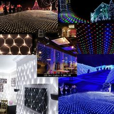 Dynamic 4mx6m 220v Outdoor Fairy Garden String Led Net Lights For Christmas Tree Park Hotel Street Holiday Party Wedding Decoration To Have A Unique National Style Led String Led Lighting