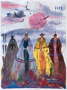 Artist: Leland Stewart, Crow, Montana