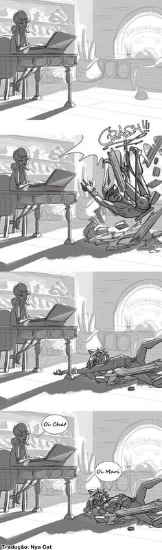 Comic - Miraculous Ladybug -  Marinette e Chat Noir <3