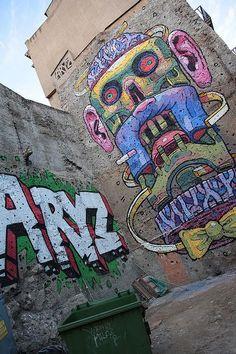 Artist : Aryz #streetart #art #graffiti