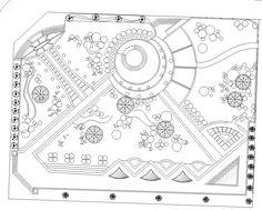 Urban Landscape Architecture Cities 48 Ideas For 2019 Plans Architecture, Landscape Architecture Drawing, Landscape Design Plans, Urban Landscape, Residential Architecture, Architecture Details, Famous Architecture, House Landscape, Bloc Autocad
