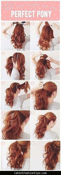 nice Celebrity hairstyles step by step