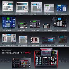 MPC! #akaimpc #mpc60 #mpc3000 #mpc2000 #mpc2000xl #mpcrenaissance #mpcstudio #studiogear #producersgear #hiphop #beatmaker #mpc4000 #mpc1000 #mpc2500 #mpctouch #mpcelement #mpcx #mpclive #mpc5000 #electronicmusic # Music Production Equipment, Recording Equipment, Dj Equipment, Audio Studio, Music Studio Room, Music Land, Dj Music, Music Machine, Drum Machine